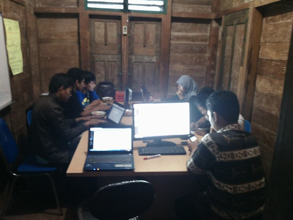Pelatihan Website gratis LDII