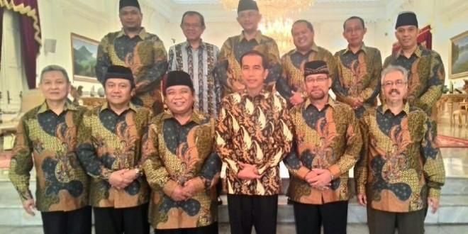 LDII Diterima Presiden RI Jokowi