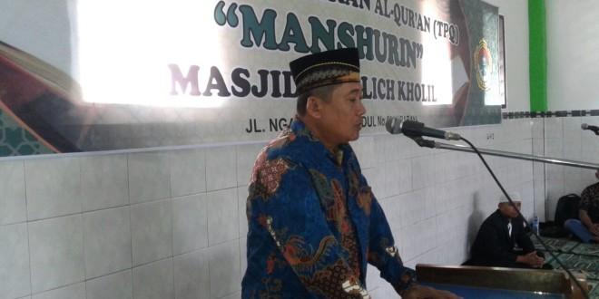 Ketua TPQ All Manshurin, Iswadi.