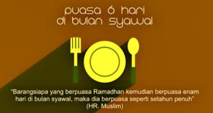 Puasa Sunnah 6 Hari di Bulan Syawal