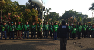 Peringati Sumpah Pemuda, BNN dan Mitra GoJek Deklarasikan Stop Narkoba