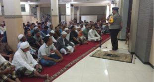 Kapolsek Kenjeran Safari Jumat Daring ke Masjid LDII