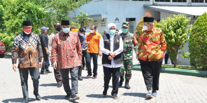 Kegiatan Vaksinasi Massal di Pondok Pesantren Sabilurrosyiddin LDII, Sabtu (21/8).